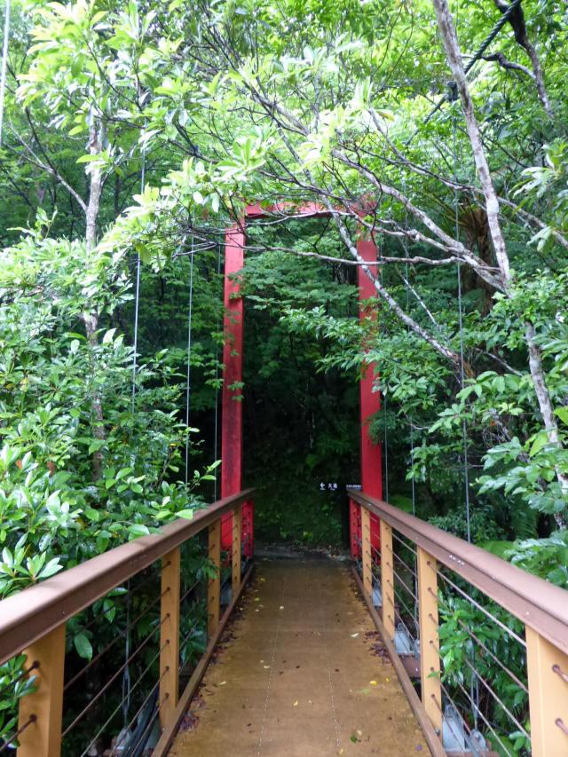 比地大滝つり橋5