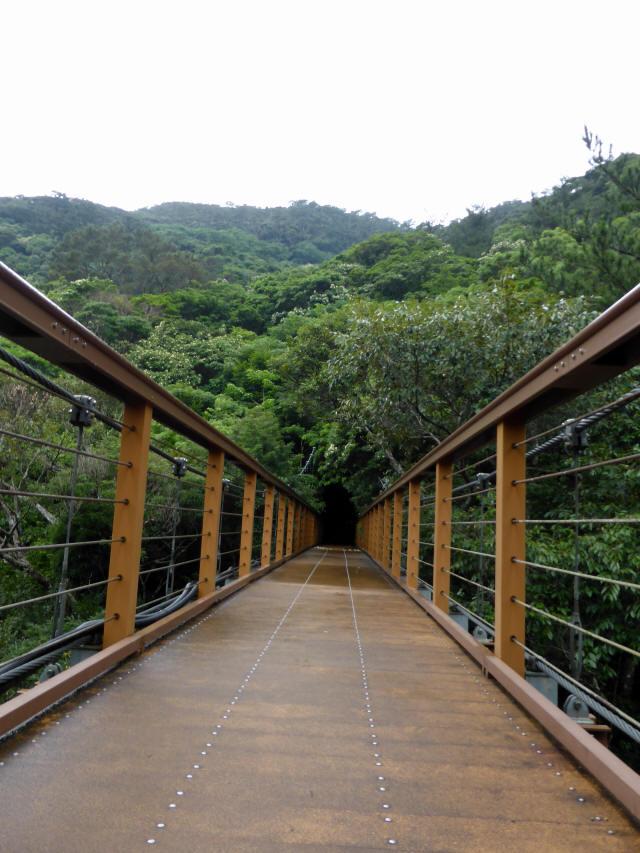 比地大滝つり橋7