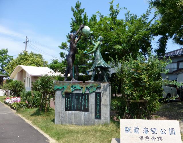 糸魚川/街かど2