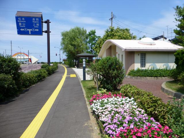 糸魚川/街かど3