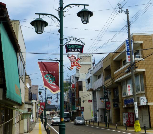糸魚川/街かどd