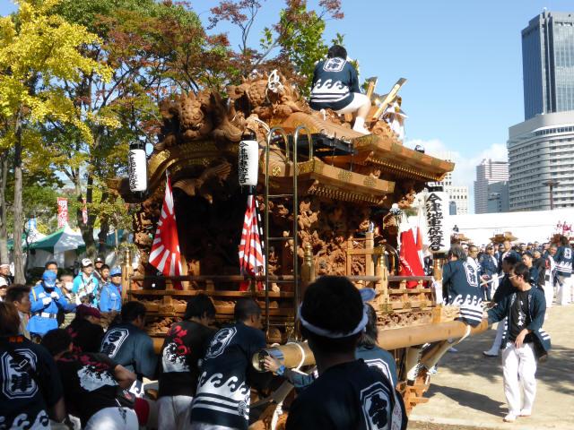 地車in大阪城7
