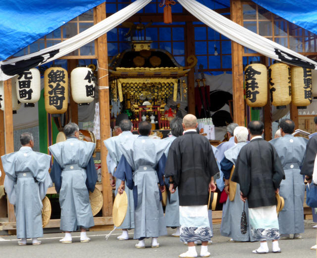 八雲神社神輿3