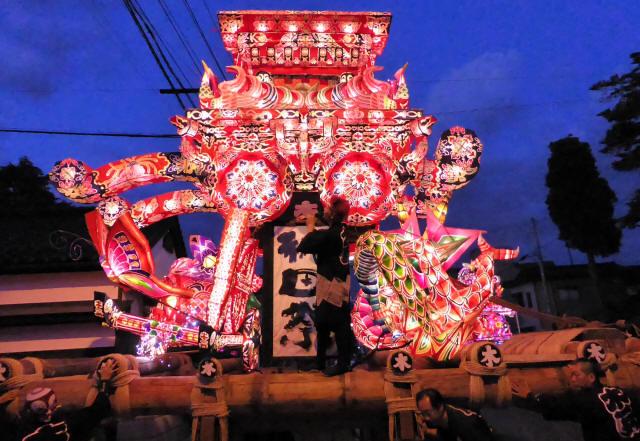 木舟町の行燈1