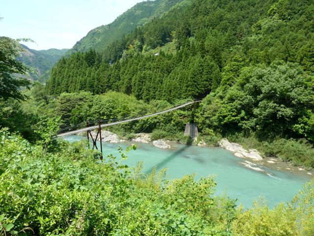 小家坂の吊橋5