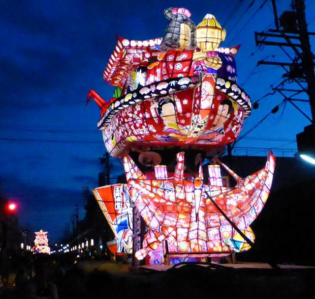三島町の行燈1