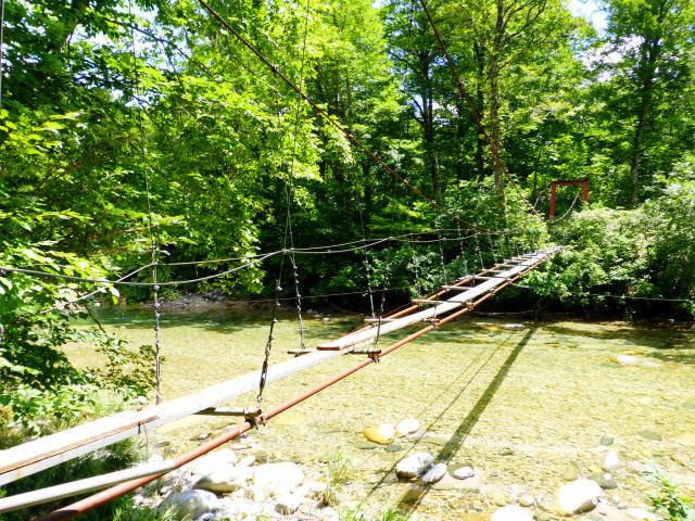 大石吊橋4