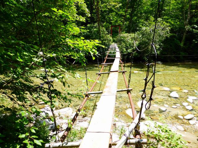 大石吊橋5