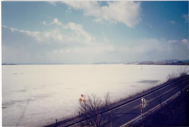 オホーツク海の流氷1