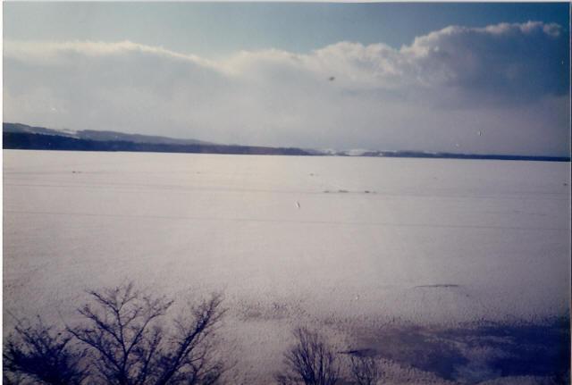 オホーツク海の流氷2
