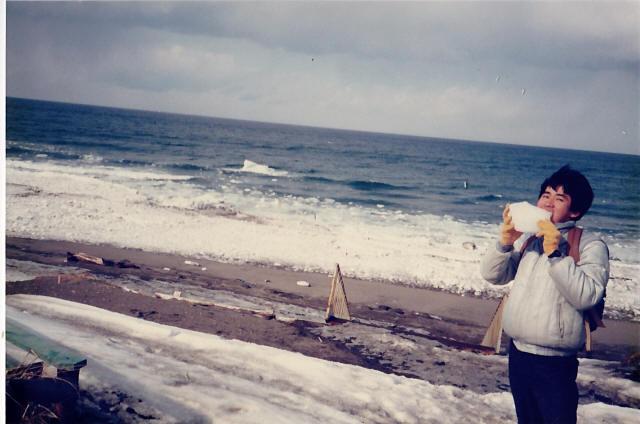 オホーツク海の流氷4