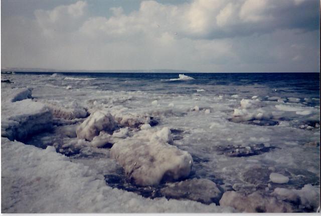 オホーツク海の流氷5