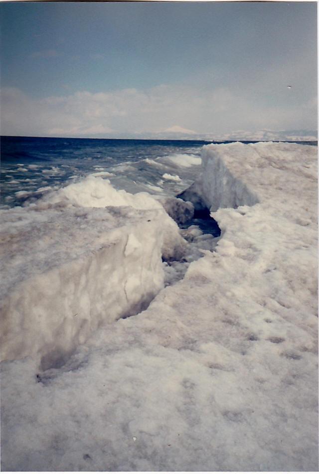 オホーツク海の流氷6