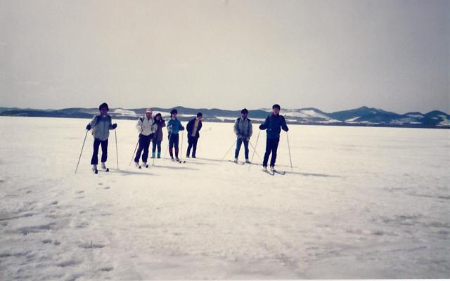 オホーツク海の流氷8