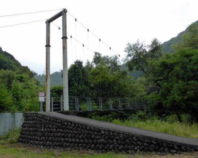 笹間渡の吊橋4