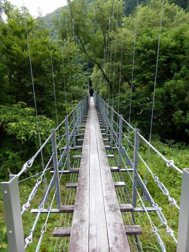 笹間渡の吊橋5