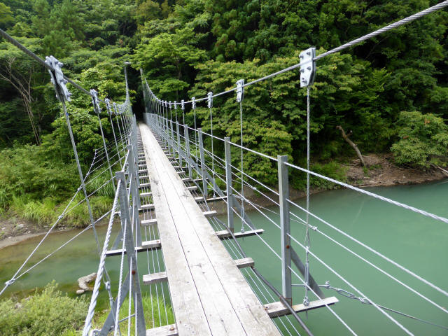 笹間渡の吊橋2