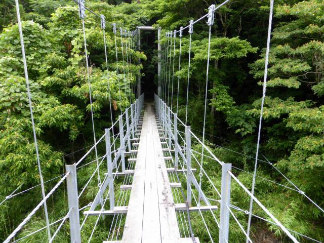笹間渡の吊橋7
