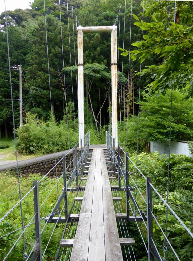 笹間渡の吊橋6