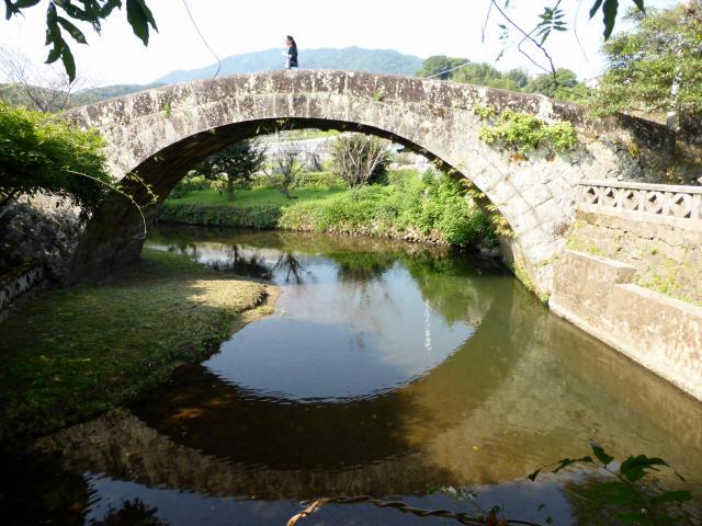 西寒田神社萬年橋3