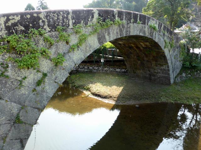 西寒田神社萬年橋9