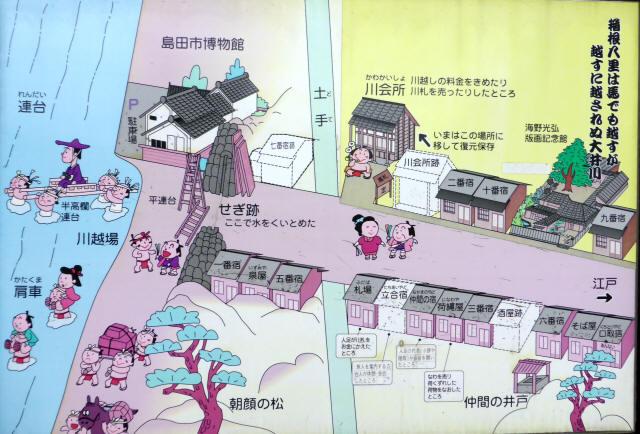 島田宿川会所1