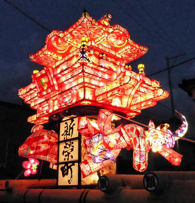 新栄町の行燈4