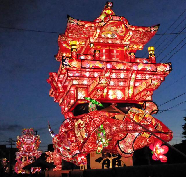 新栄町の行燈1