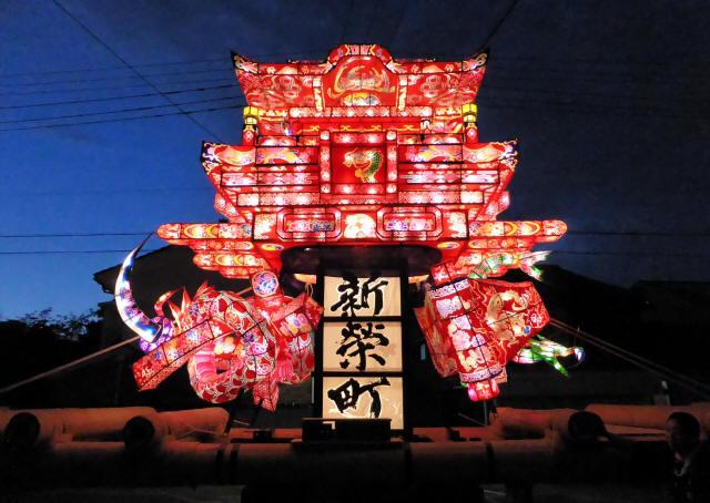 新栄町の行燈2