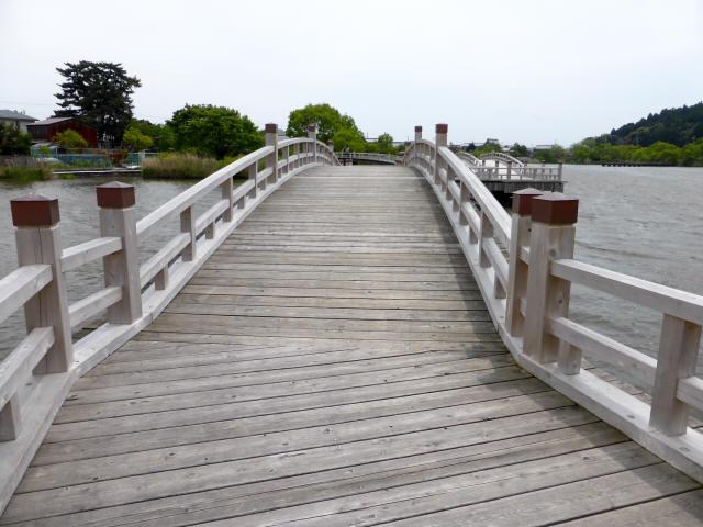 乙女ヶ池の太鼓橋03