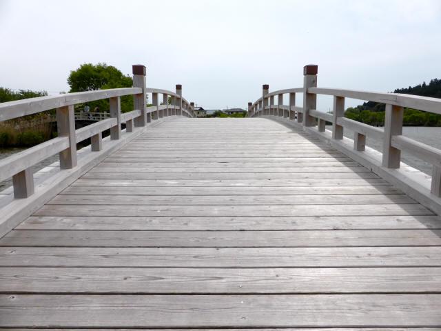 乙女ヶ池の太鼓橋07