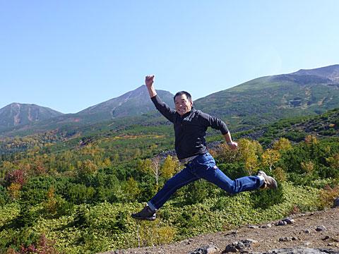 16 10/2 望岳台 ジャンプ