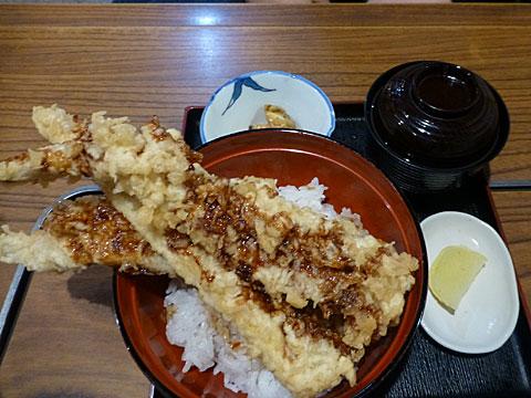 16 4/15 笹寿司 アナゴ天丼