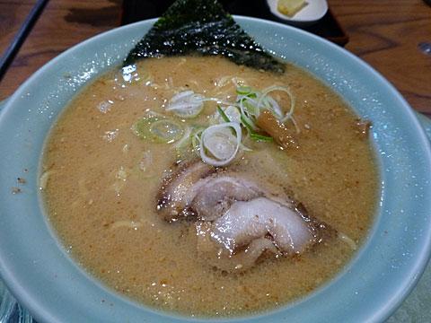 16 4/15 笹寿司 味噌ラーメン