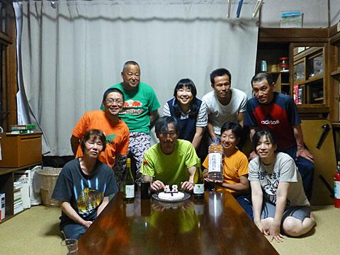 16 5/22 高木 ケーキ