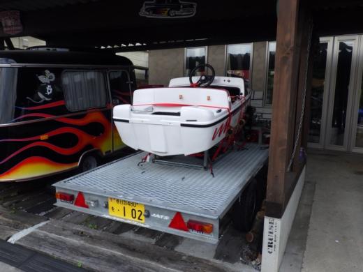 ミニボートを載せる (1)