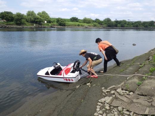 荒川でボート (33)