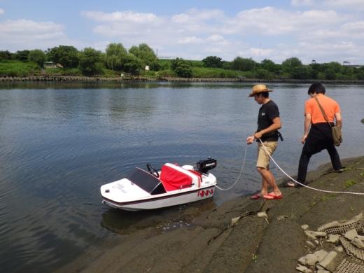 荒川でボート (34)