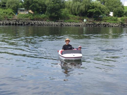 荒川でボート (42)