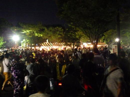 草加公園花火大会 (3)