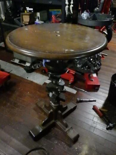 ガレージのテーブル (35)