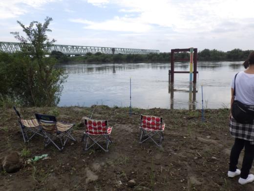 大利根橋で釣り (24)