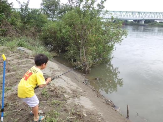 大利根橋で釣り (25)
