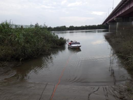 大利根橋で釣り (53)
