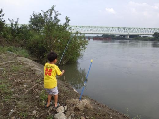 大利根橋で釣り (66)