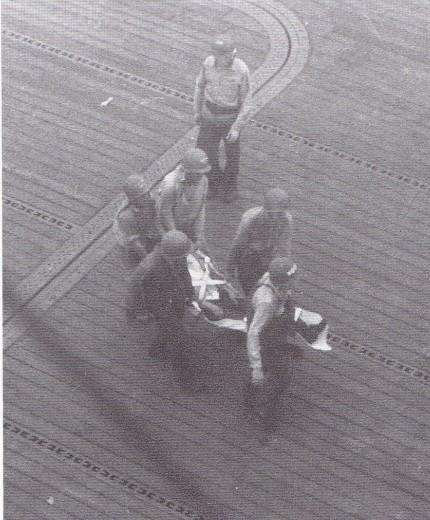 護衛空母キトカン・ベイ戦傷者