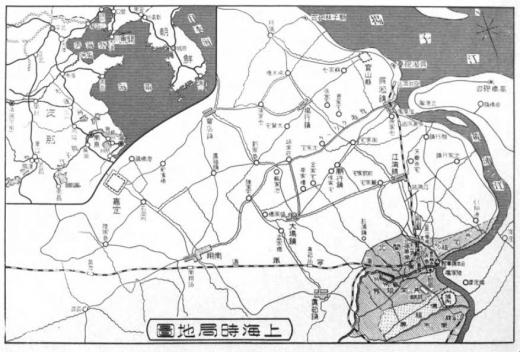 上海朝鮮地図1