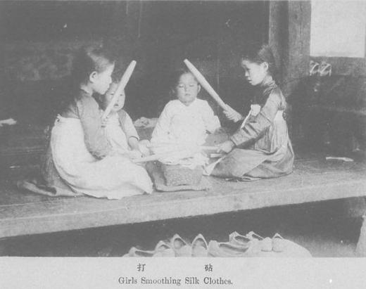 朝鮮平民の子ども1