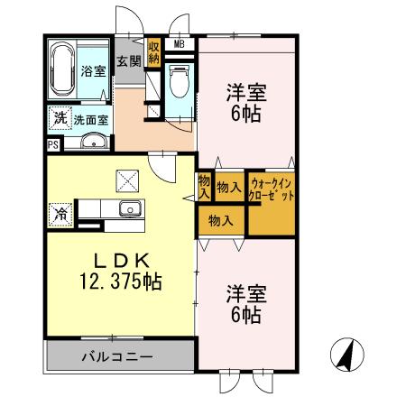 ■物件番号4485 TSUTAYA隣の超築浅2LDK+WICマンション!8.1万円!スーパー1分!生活便利!
