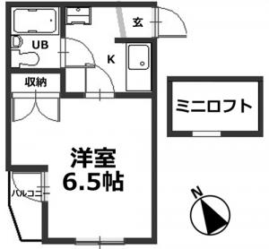 ■物件番号4490 茅ヶ崎海側!駅徒歩4分!コンクリート打ちっぱなしのお手頃1Kマンション!最上階カド!5万円!